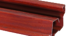 steel standard frame red mahogany finish